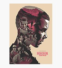 Stranger Things / Characters in Eleven Photographic Print