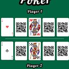 Interactive poker, family and friends card game t-shirt by pictoshirt