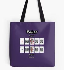 Interactive poker, family and friends card game t-shirt Tote Bag