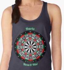 Interactive darts, family and friends game t-shirt Women's Tank Top