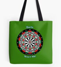 Interactive darts, family and friends game t-shirt Tote Bag