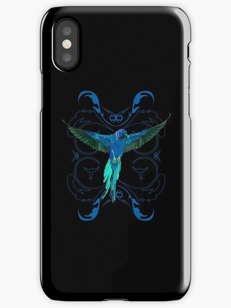 Blue Parrot by Adam Santana