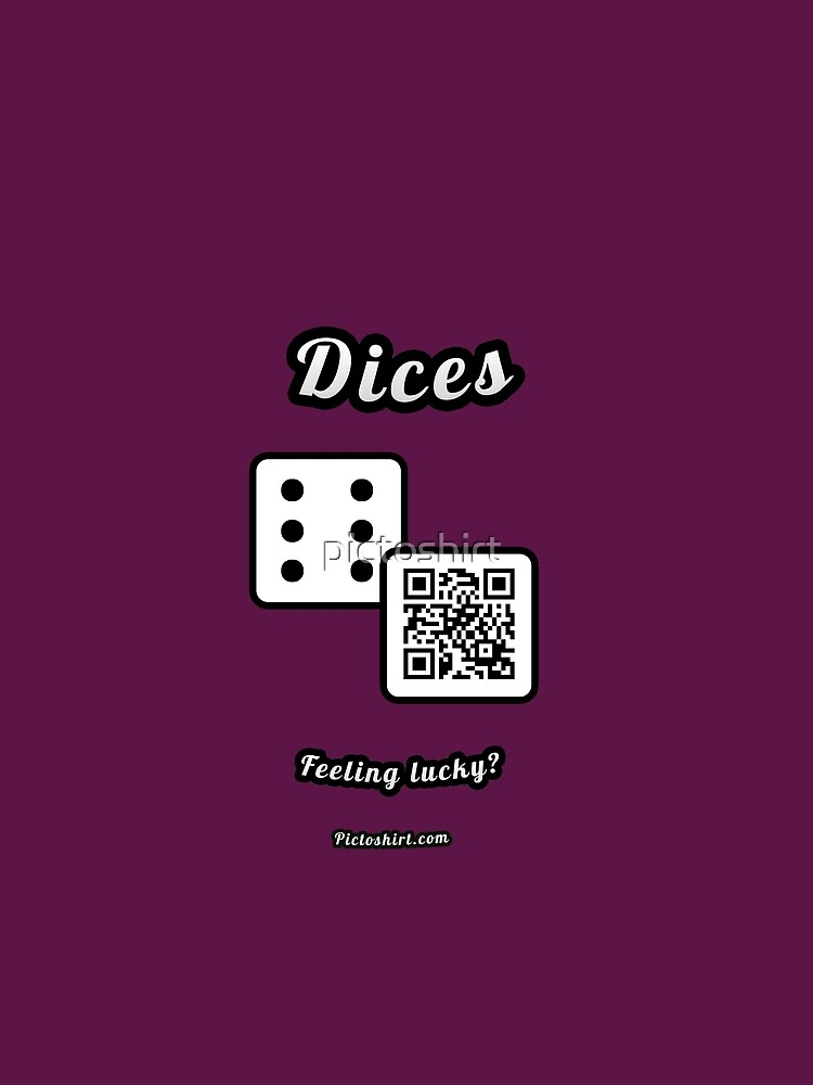 Interactive dice game, family and friends dice t-Shirt by pictoshirt