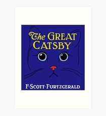 The Great Catsby Art Print