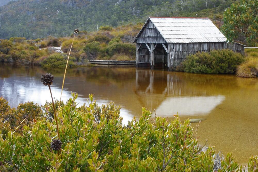 Dove Lake boathouse by Greg Eyre