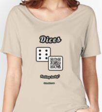 Interactive dice game, family and friends dice t-Shirt Women's Relaxed Fit T-Shirt