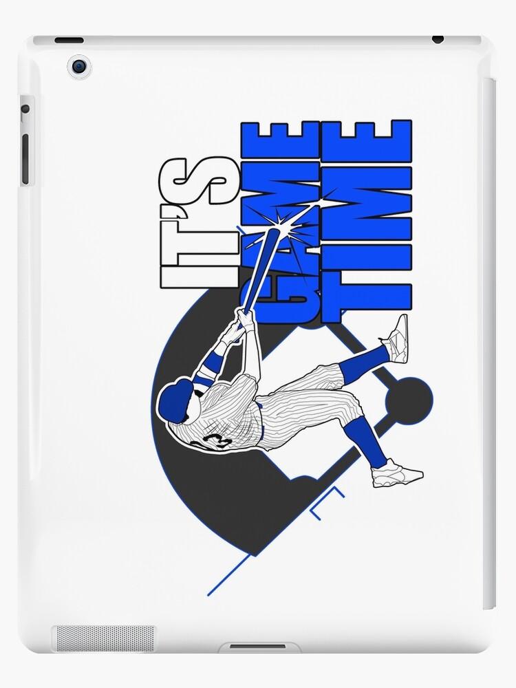It's Game Time - Baseball (Blue) by Adam Santana