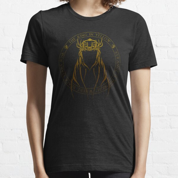 The King in Yellow Sigil (yellow sign) Essential T-Shirt