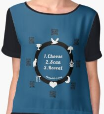 Horoscope tshirts, predict the future of family and friends  Chiffon Top