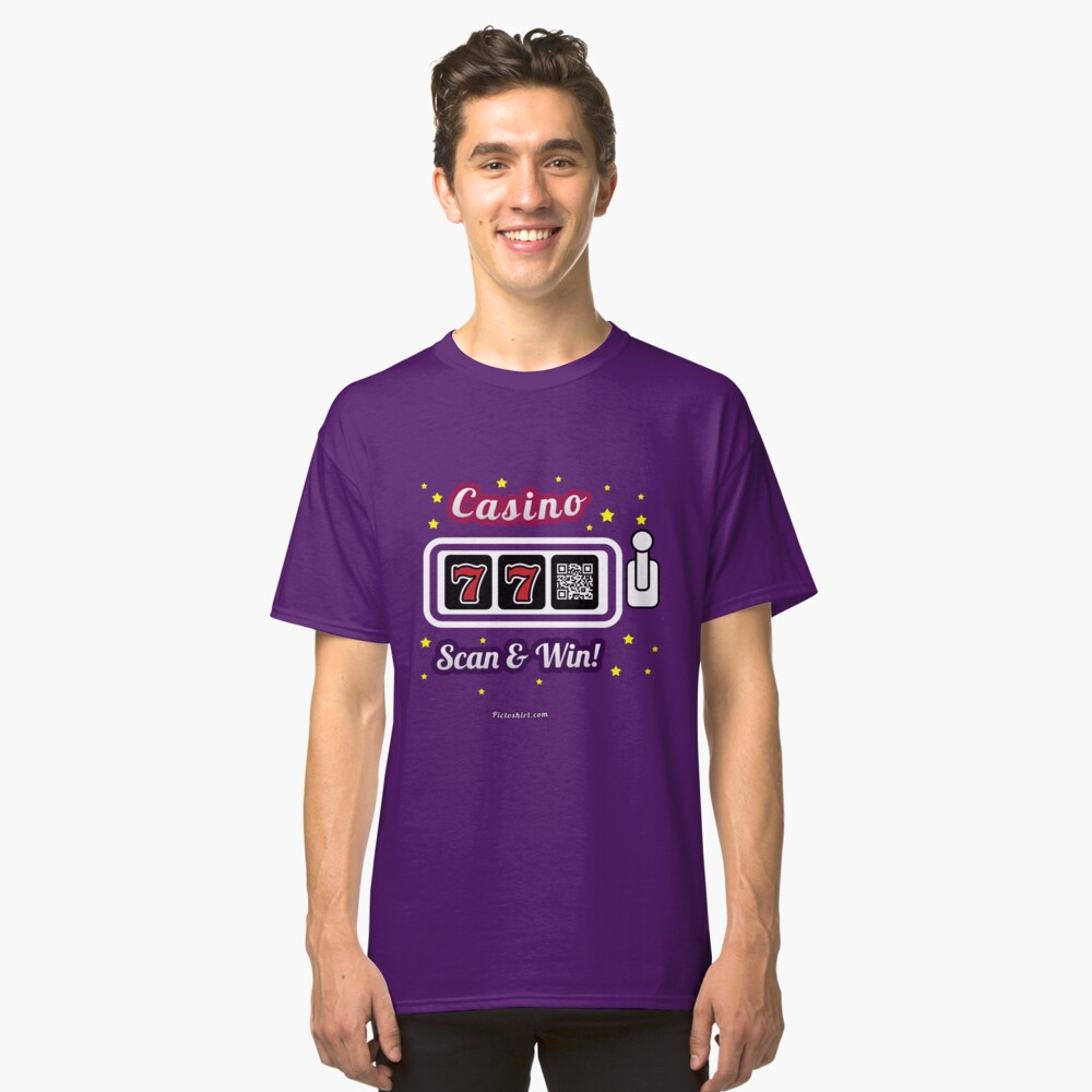 Casino game, family and friends t-shirt Classic T-Shirt Front