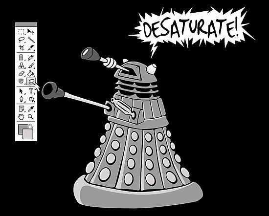 DESATURATE! by Dave Graff