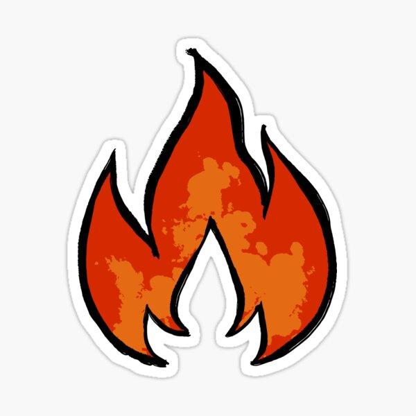 LUZIS FLAMME Sticker