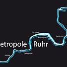 Metropole Ruhr - Der Ruhrverlauf by chasednsnowed