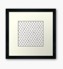 Chicken Cows Framed Print