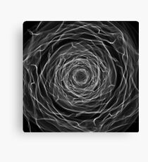 White Abstract Canvas Print