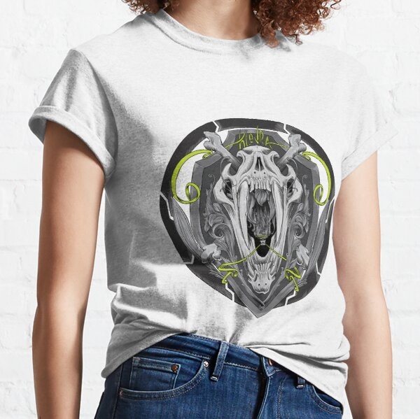 sabertooth skull Classic T-Shirt