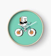 Sushi bicycle Clock