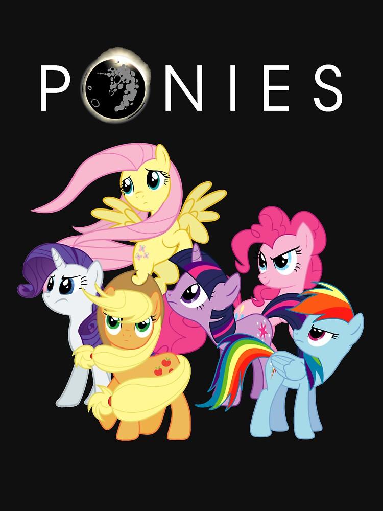 TShirtGifter presents: Ponies | Unisex T-Shirt