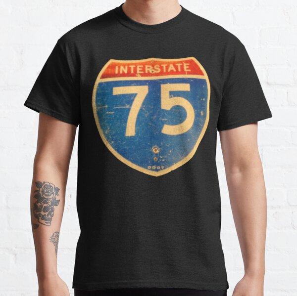 Ohio Interstate 75 (I75 or I-75) Sign Classic T-Shirt