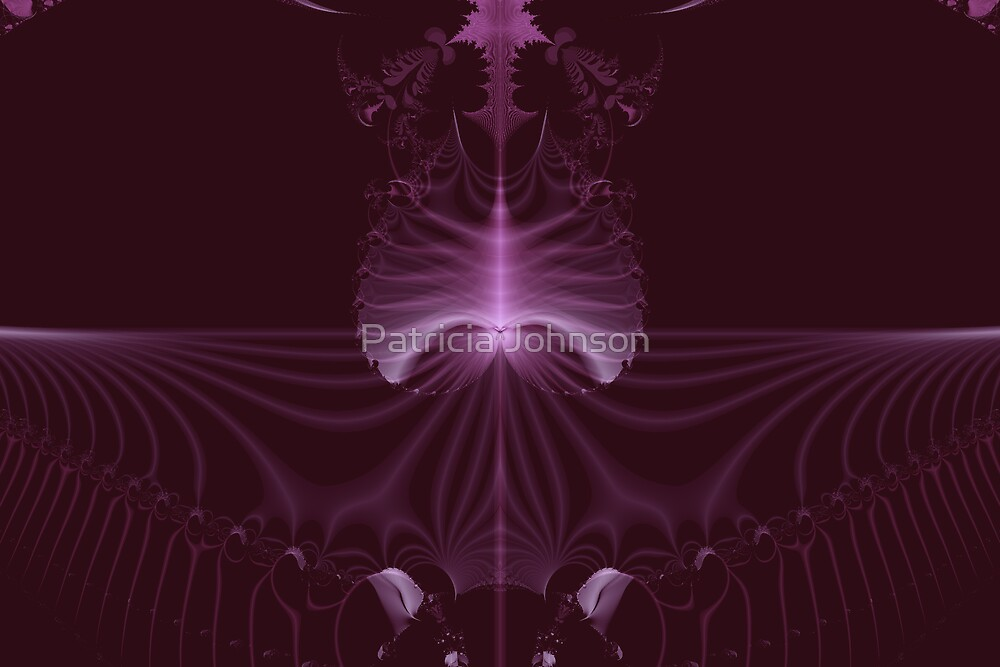 Purple Fern by Patricia Johnson