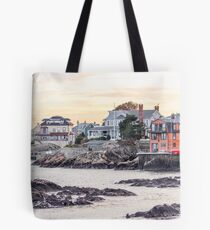 New England Coast Tote Bag