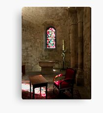 Meditation Room Canvas Print