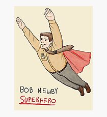 Bob Newby Superhero Photographic Print