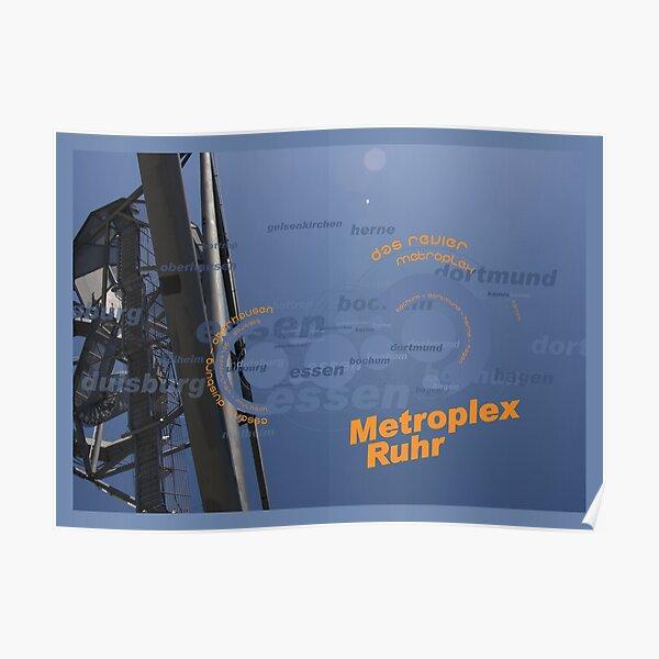 Metroplex Ruhr - Tetra Poster