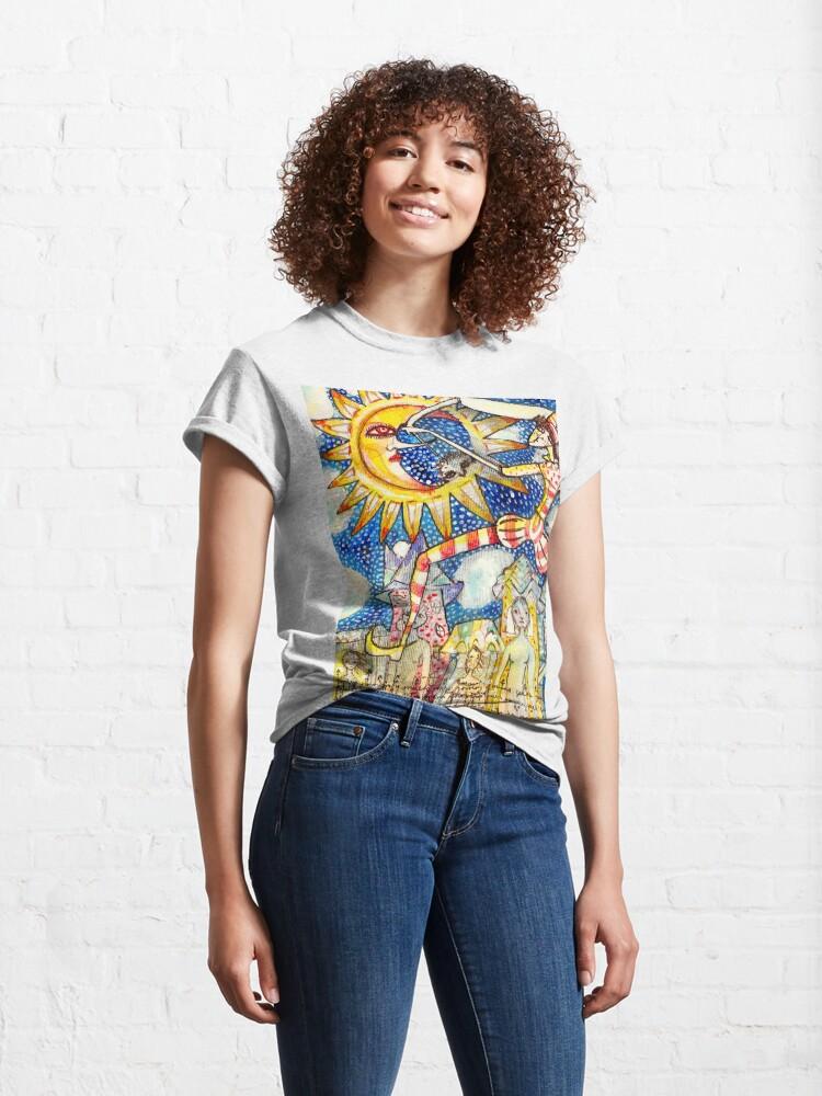 Alternate view of ¡Qué Viva! Classic T-Shirt