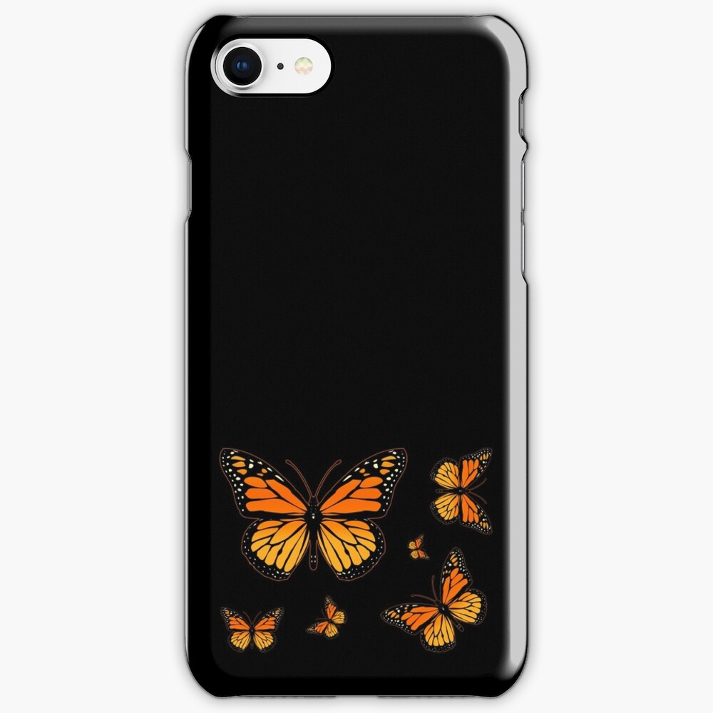 Monarch Butterfly Rapsody iPhone Case & Cover