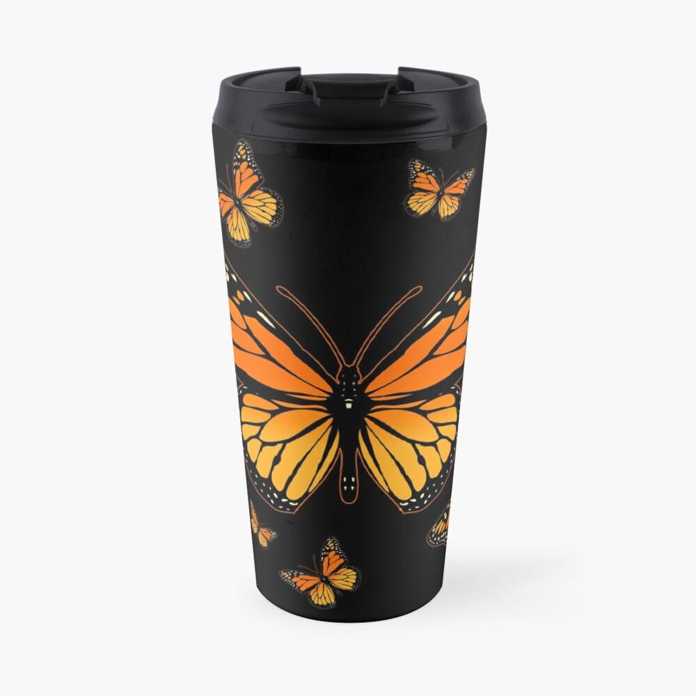 Monarch Butterfly Rapsody Travel Mug