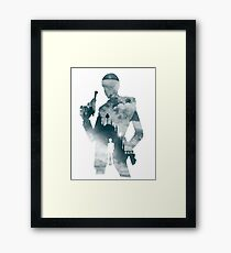 The Thief and The Castle Framed Print