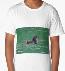 """""""Come In - The Water's Lovely!"""" Long T-Shirt"""
