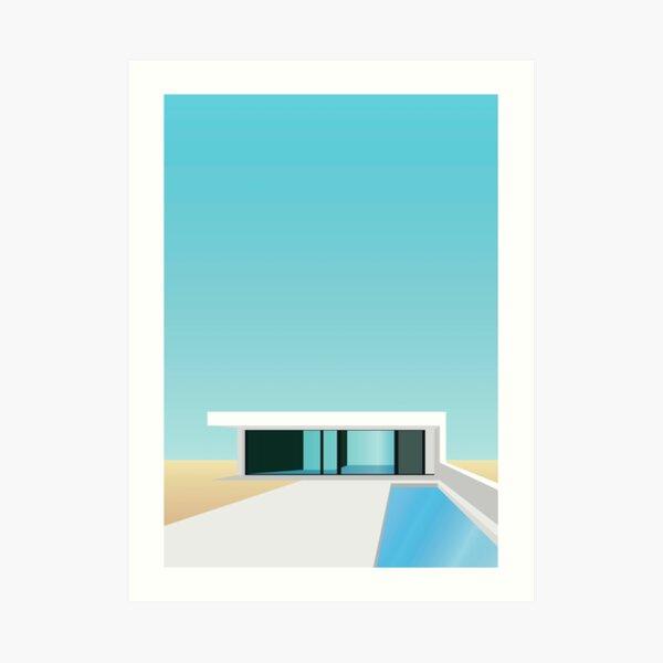 Summer residence Art Print