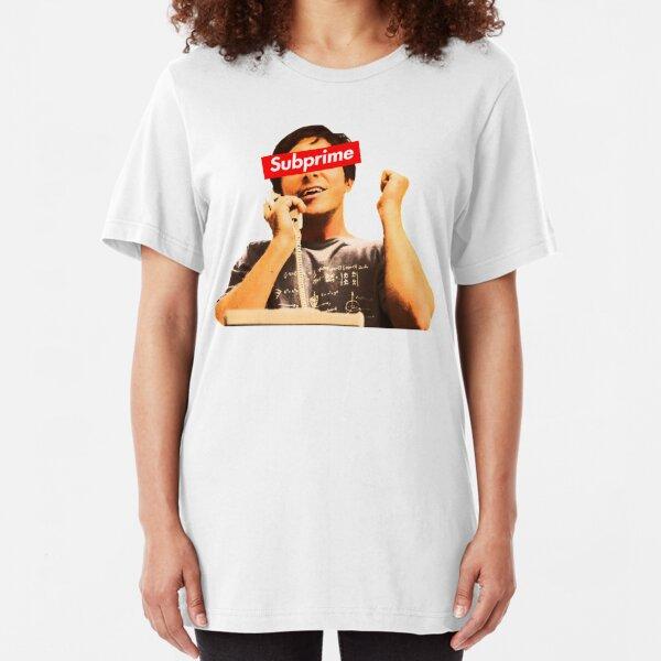 Supreme Subprime Big Short Shirt Slim Fit T-Shirt