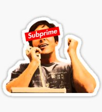 Supreme Subprime Big Short Shirt Sticker