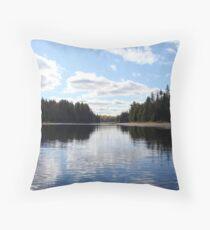 Hailstorm Creek - Algonquin Park Throw Pillow