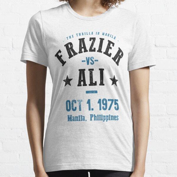 Ali vs Frazier The Thrilla in Manila T-shirt Essential T-Shirt