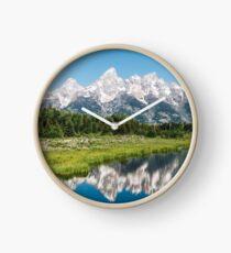 Grand Tetons Clock