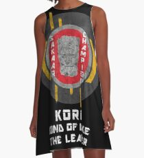 Sakaar's Champion - Korg A-Line Dress