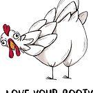 Liebe deine Beute von agrapedesign