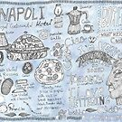 Doodles from Napoli by yaansoon