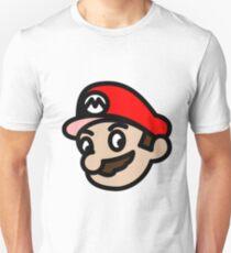 The true face of Mario T-Shirt