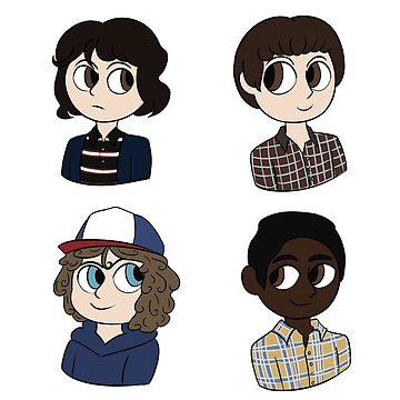 Stranger Things Boys by Aikeji