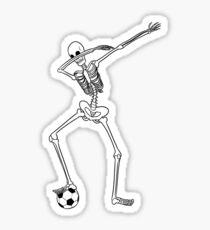 Dabbing Skeleton T-shirt Sticker