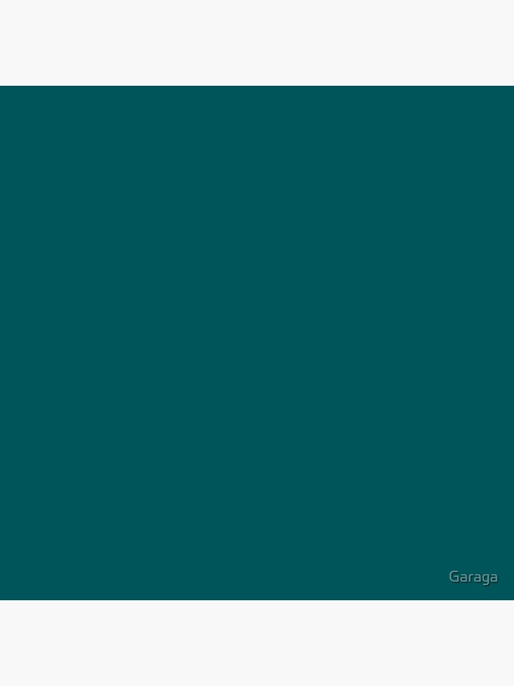 Teal Green Accent Solid Color Decor by Garaga