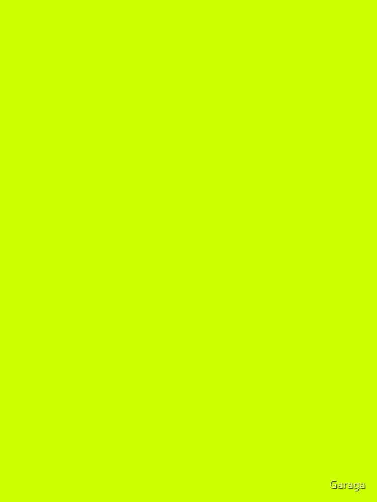 Electric Vibrant Lime Solid Color by Garaga