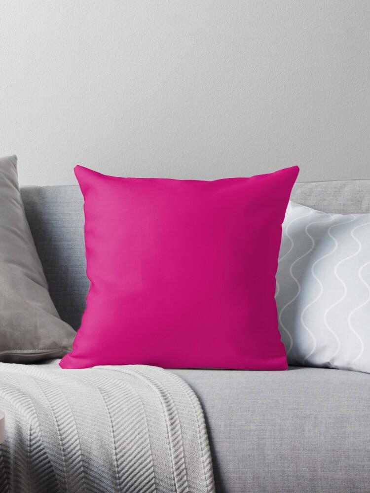 Hot Pink Fuchsia Solid Color Decor by Garaga