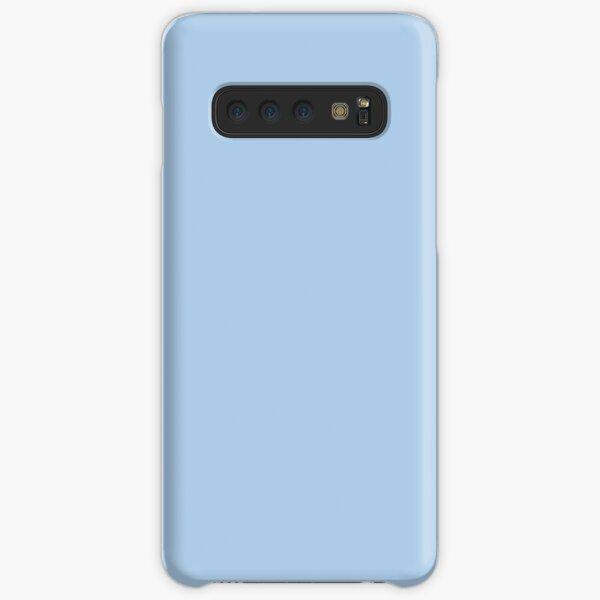 Baby Blue Solid Color Decor Samsung Galaxy Snap Case