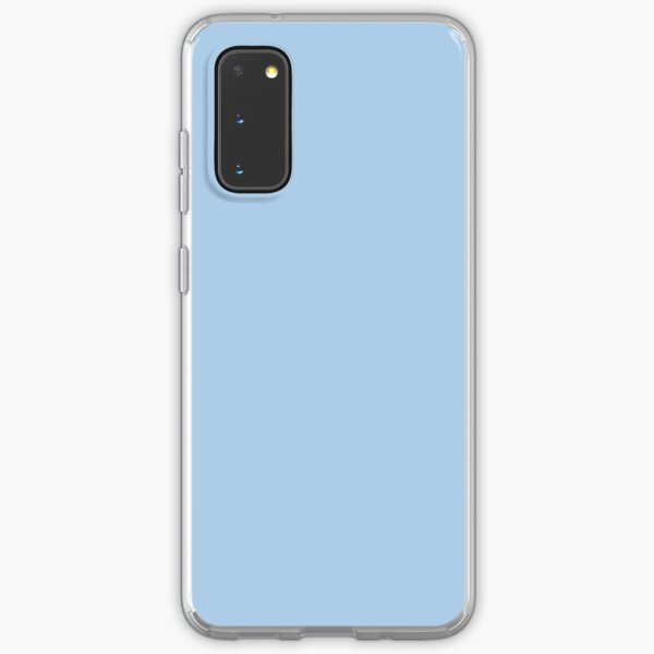 Baby Blue Solid Color Decor Samsung Galaxy Soft Case